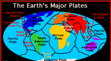 earth geology plates