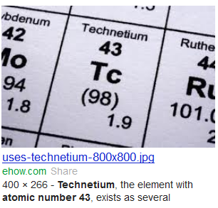 technetium 43 atomic